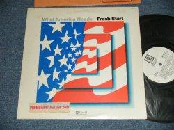 """画像1: FRESH START - WHAT AMERICA NEEDS ( Ex++/Ex+++)   / 1974 US AMERICA ORIGINAL """"WHITE LABEL PROMO"""" Used  LP"""
