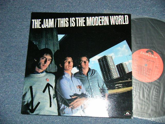 the jam this is the modern world ex ex 1977 us america original used lp パラダイス レコード