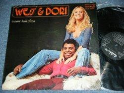 画像1: WESS & DORI - AMORE BELLISIMO. / 1976 ITALY ORIGINAL Used LP