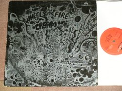 "画像1: CREAM - WHEELS OF FIRE - LIVE AT FILLMORE  ( Matrix Number ""TYPING STYLE""583040 A//1 ▽420 1 5 / 53040 B//1 ▽420 1 8: Ex-/Ex )  / 1968 UK ENGLAND ORIGINAL 1st PRESS FULL COATING Jacket STEREO  Used LP"
