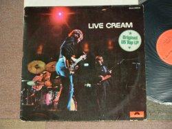 画像1: CREAM - LIVERCREAM  (  Ex+/MEx+++ )  / 1970 WEST-GERMANY ORIGINAL  Used LP