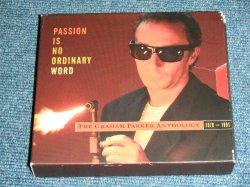 画像1: GRAHAM PARKER - PASSION IS NO ORDINARY WORD : THE GRAHAM PARKER ANTHOLOGY 1976-1991  / 1993 US ORIGINAL Used 2 CD'S Box set With BOOKLET