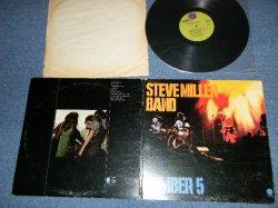 """画像1: STEVE MILLER BAND - NUMBER 5 ( Ex+/Ex+++)  / 1970 US AMERICA ORIGINAL """"GREEN with Purple'C' Logo on TOP Label"""" Used LP"""