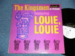 画像1: THE KINGSMEN - IN PERSON  feat.LOUIE,LOUIE ( Ex+/Ex+++ Looks:Ex+++)  / 1964 US AMERICA ORIGINAL MONO Used LP