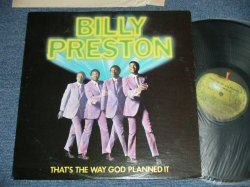画像1: BILLY PRESTON - THAT'S THE WAY GOD PLANNED IT ( Matrix # A) ST--1-3359-F-4   B) ST--2-3359-F-4) ( Ex++/Ex+++ : EDSP )  /  1969 ? US AMERICA ORIGINAL  Used LP