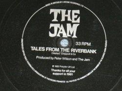 """画像1: THE JAM ( PAUL WELLER ) - TALES FROM THE RIVERBANK ( FLEXIE DISC  ソノ・シート) ( NEW )  / 1982 UK ENGLAND ORIGINAL """"PROMO ONLY"""" """"BRAND NEW"""" 7"""" Single FLEXI DISC"""