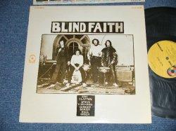 """画像1: BLIND FAITH - BLIND FAITH  """"Group Cover""""  (Matrix #  A) ST-C-691661-B  /B) ST-C-691662-B)  ( Ex+++/MINT-)   / 1969 US AMERICA ORIGINAL """"YELLOW Label""""  """"1841 BROADWAY Label""""  Used LP"""