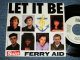 "FERRY AID (PAUL McCARTNEY of The BEATLES, KATE BUSH, BOY GERORGE,+)  - LET IT BE  (Ex+++/MINT-) / 1987 US AMERICA ORIGINAL ""PROMO ONLY Same Flip""  Used 7"" Single With PICTURE SLEEVE"