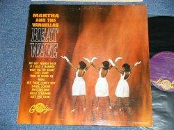 """画像1: MARTHA and The VANDELLAS - HEAT WAVE (Ex++/MINT-) / 1963 US AMERICA ORIGINAL """"1st press Number Credit"""" MONO Used  LP"""