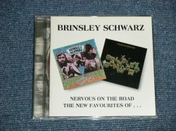 画像1: BRINSLEY SCHWARZ - NERVOUS ON THE ROAD ;+ THE NEW FAVOURITES OF ... (MINT-/MINT) /1995 US AMERICA  ORIGINAL Used CD