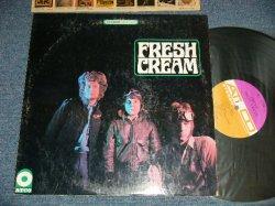 """画像1: CREAM - FRESH CREAM (Matrix #  A) ST-C-66957-1A/B) ST-C-66958-1A )  (Ex/MINT- )  / 1967 US AMERICA ORIGINAL 1st Press """"PURPLE & BROWN"""" label STEREO Used LP"""