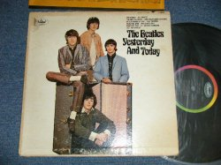 "画像1: The BEATLES - YESTERDAY And TODAY ( Matrix # A)  T-1-2553- G8 #2    B)  T-2-2553-G6  )  ( VG++/MINT- ) / 1966 US AMERICA  ""BLACK with RAINBOW Label"" MONO Used LP"