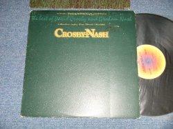 """画像1: DAVID CROSBY & GRAHAM NASH - THE BEST OF  ( Matrix #  A)  AA-1102-A (3) / B)  AA-1102-B (3)  )   ( Ex/Ex+++ )  / 1978 US AMERICA ORIGINAL 2nd Press """"ABC Logo on Top Label""""  Used LP 81"""