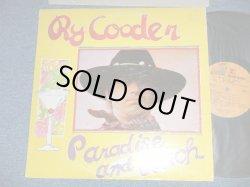 """画像1: RY COODER -  PARADISE LUNCH  (Matrix # A) MS-2179 LW4   B) MS-2179 LW2 ) ( Ex+/MINT-)  / 1974 Version  US AMERICA 2nd Press """"BROWN  without STEREO at Bottom Label"""" Used LP"""