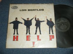 "画像1: THE BEATLES - HELP! ( YEX-168-1/YEX-169-1 ) ( Ex+++/Ex+++)  / 1965 PERU ORIGINAL ""Black Label"" STEREO  Used LP"