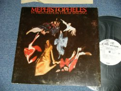 "画像1: MEPHISTOPHELES - IN FRUSTRATION I HEAR SINGING  (Ex++/MINT-)  / 1969 US AMERICA ORIGINAL ""WHITE LABEL PROMO""  Used LP"