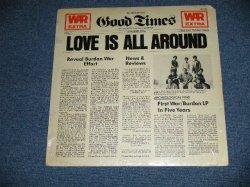 """画像1: WAR Featuring ERIC BURDON - LOVE IS ALL AROUND  (SEALED  Cut out)  / 1976  US AMERICA  ORIGINAL """"BRAND NEW SEALED""""   LP"""