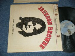 """画像1: JACKSON BROWNE - JACKSON BORNE (SATURATE BEFORE USING) :TOP LOADED COVER ( Matrix # A) ST-AS-712383-F  B) ST-AS-712384- J ) (  Ex++/MINT-)  / 1974 Version Version  US AMERICA """"LIGHT BROWN Cover"""" """"Small WARNER Credit at Bottom Label"""" """"CLOUDS Label With BLUE""""  Used LP"""