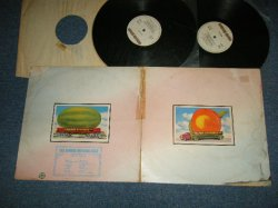"画像1: THE ALLMAN BROTHERS BAND -  EAT A PEACH : NO Inserts  (Matrix #A1/B1/C1/D1  )  (VG+/Ex+++ WTRDMG, SWOBC, Tape seam) / 1972 UK ENGLAND  ORIGINAL 1st Press""White BROWN  Label""  Used 2-LP"