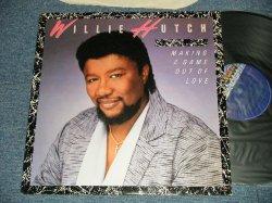 画像1: WILLIE HUTCH - MAKING A GAME OUT OF LOVE( MINT-/MINT-) / 1985 US AMERICA ORIGINAL Used LP