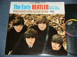 """画像1: The BEATLES - THE EARLY BEATLES  ( Matrix # A) ST-1-2309 G-25   B) ST-2-2309 G-26) (MINT-/MINT-) / 1983 Version US AMERICA """"BLACK with RAINBOW Label""""  STEREO  Used LP"""