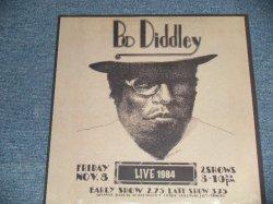 """画像1: BO DIDDLEY - LIVE 1984 (SEALED)   / 2008 US AMERICA ORIGINAL """"Brand New SEALED""""  LP"""