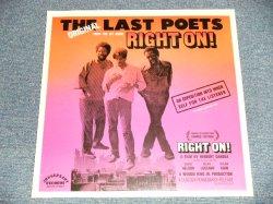 """画像1: The LAST POETS -  RIGHT ON! (sealed) / US AMERICA REISSUE """"BRAND NEW SEALED"""" LP"""