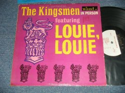 画像1: THE KINGSMEN - IN PERSON  feat.LOUIE,LOUIE ( Ex-/Ex++ WOBC)  / 1964 US AMERICA ORIGINAL MONO Used LP