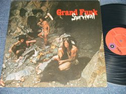 "画像1: GFR GRAND FUNK RAILROAD - SURVIVAL (  Matrix #     A)SW-1-764-F3 #3     B) SW-2-764-F3 #4  ) (Ex+/Ex+++ EDSP) / 1971 US AMERICA  2nd Press ""RED Label Used LP…"