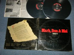 画像1: GFR GRAND FUNK RAILROAD - MARK, DON & MEL  1969-71N (Ex++/Ex++ ,D-2:Ex  EDSP)  / 1972 US AMERICA ORIGINAL Used 2-LP's