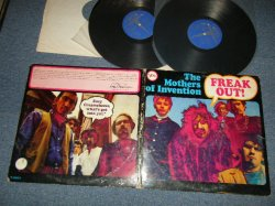 画像1: FRANK ZAPPA / THE MOTHERS OF INVENTION - FREAK OUT! ( NOT includes map.) (Ex/Ex++ Looks:Ex+ EDSP) / 1966  US AMERICA ORIGINAL MONO Used 2-LP