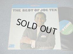 """画像1: JOE TEX - THE BEST OF JOE TEX (Ex++/Ex+++) / 1967 US  US AMERICA ORIGINAL 1st Press """"GREEN & BLUE Label"""" Used LP"""