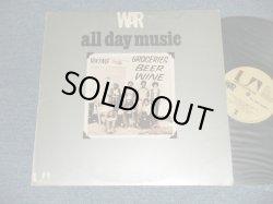 画像1: WAR - ALL DAY MUSIC ( Ex+/MINT-)  / 1971 US AMERICA ORIGINAL Used  LP