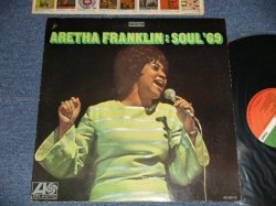 "画像1: ARETHA FRANKLIN - SOUL '69 ( Matrix # XXXXXXXXXXXXXXXXXXXXXXXXA) ST-A-681481-1C CT T   B) ST-A-681482-1B CT T  ""CT"" Press) (Ex+/MINT- Looks:Ex++  BB) / 1969 US AMERICA ORIGINAL 1st Press ""GREEN & RED with 1841 BROADWAY Label"" Used LP"