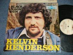 画像1: KELVIN HENDERSON - BLACK MAGIC GUN  (Ex+++/MINT-) /  1977 UK ENGLAND ORIGINAL Used LP