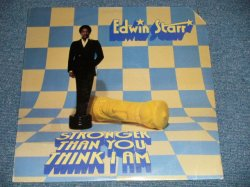 "画像1: EDWIN STARR -  STRONGER THAN YOU THINK I AM  (SEALED Cut Out Corner) / 1980 US AMERICA ORIGINAL""BRAND NEW SEALED"" LP"
