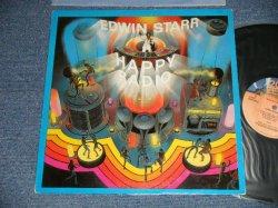 画像1: EDWIN STARR -  HAPPY RADIO (Ex+/Ex++ EDSP) / 1979 US AMERICA ORIGINAL USED LP