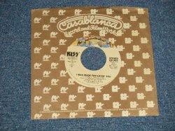 """画像1: KISS -  A) I WAS MADE FOR  LOVIN' YOU  B) HARD TIME (MINT-/MINT) /1979 US AMERICA ORIGINAL Used 7"""" SINGLE"""