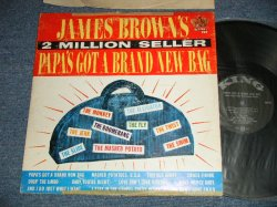 "画像1: JAMES BROWN -  PAPA'S GOT A BRAND NEW BAG (VG+++/Ex B-3:POOR Jump) / 1965  US AMERICA ORIGINAL ""BLACK with SILVER Print With Large KING logo on TOP Label""  MONO Used LP"