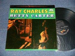 """画像1: RAY CHARLES and BETTY CARTER - RAY CHARLES and BETTY CARTER ( Ex++/Ex+)  / 1961 US AMERICA ORIGINAL 1st Press """"BLACK Label"""" STEREO Used LP"""