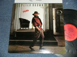 "画像1: PETER BROWN - SNAP (Ex++/MINT-) / 1984 US AMERICA ORIGINAL ""PROMO"" Used LP"