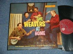 画像1: THE WEAVERS (with PETE SEEGER) - THE WEAVERS AT HOME(Ex/Ex TapeOC, TEAROL)   / 1959 US AMERICA ORIGINAL MONO Used  LP