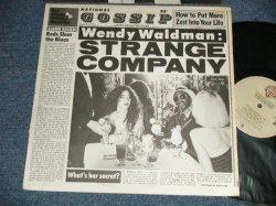 画像1: WENDY WALDMAN - STRANGE COMPANY (Matrix # A) BSK-1-3178-JW1 #2  KENDUN-S JG   B) BSK-2-3178-JW4 #4 KENDUN-C  )  (Ex++/MINT-) / 1978 US AMERICA ORIGINAL Used LP