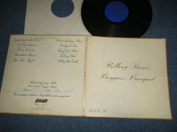 画像1:  THE ROLLING STONES - BEGGARS BANQUET ( MATRIX # A) XZAL-8476 A-2   B) XZAL-8477 B-1  ) (Ex+/Ex++ Looks:Ex+++) / 1976? Version Maybe US AMERICA REISSUE 2nd Press Non-Credit Back Cover  LP
