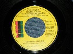 """画像1: SETHER PHILIPS - A) I'VE NEVER FOUND A MAN (Northern Soul)  B)CHERRY RED (Northern Ballad ....Nice Song)  (MINT-/Ex+++ Looks:Ex++)  / 1972 US AMERICA ORIGINAL  Used 7"""" 45 rpm Single"""