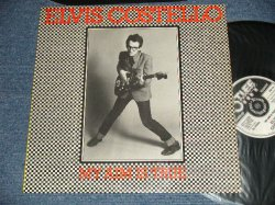 "画像1: ELVIS COSTELLO  - MY AIM IS TRUE ( Matrix #   A) A1   B) B1) (Ex+++/MINT- Looks:Ex+++)  / 1977 UK ENGLAND ORIGINAL ""BLACK Front & YELLOW Back Version"" Used LP"