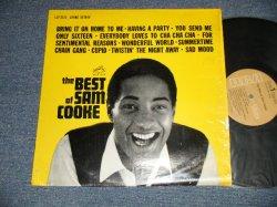 """画像1: SAM COOKE - THE BEST OF (Ex/MINT- WTRDMG) /  US America REISSUE """"TAN LABEL"""" STEREO Used LP"""