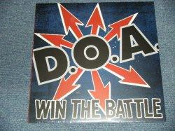 """画像1: D.O.A. - WIN THE BATTLE (SEALED) / 2002 CANADA ORIGINAL """"BRAND NEW SEALED"""" LP"""