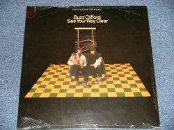 """画像1: BUZZ CLIFFORD - SEE YOUR WAY CLEAR  (SEALED  Cut Out) / 1969 US AMERICA ORIGINAL """"BRAND NEW SEALED""""  LP"""