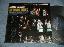 "画像1: ROLLING STONES - GOT LIVE IF YOU WANT IT! (Matrix  #  A)ZAL-7517-1F Bell Sound  MR ▵9822  B)ZAL-7518-1F  Bell Sound   MR ▵9822-x) (Ex+/MINT- EDSP)  / 1966 US AMERICA  ORIGINAL  1st Press ""Shinning DARK BLUE Label"" stereo Used LP"